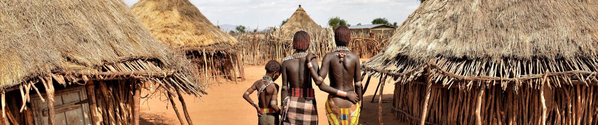Femme d'une tribu en Ethiopie